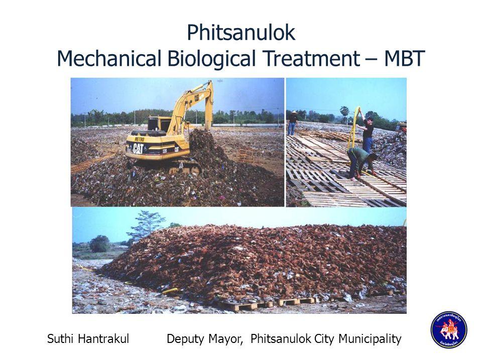 Phitsanulok Mechanical Biological Treatment – MBT