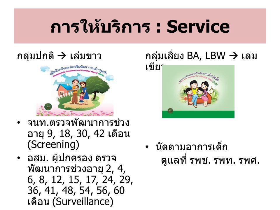 การให้บริการ : Service