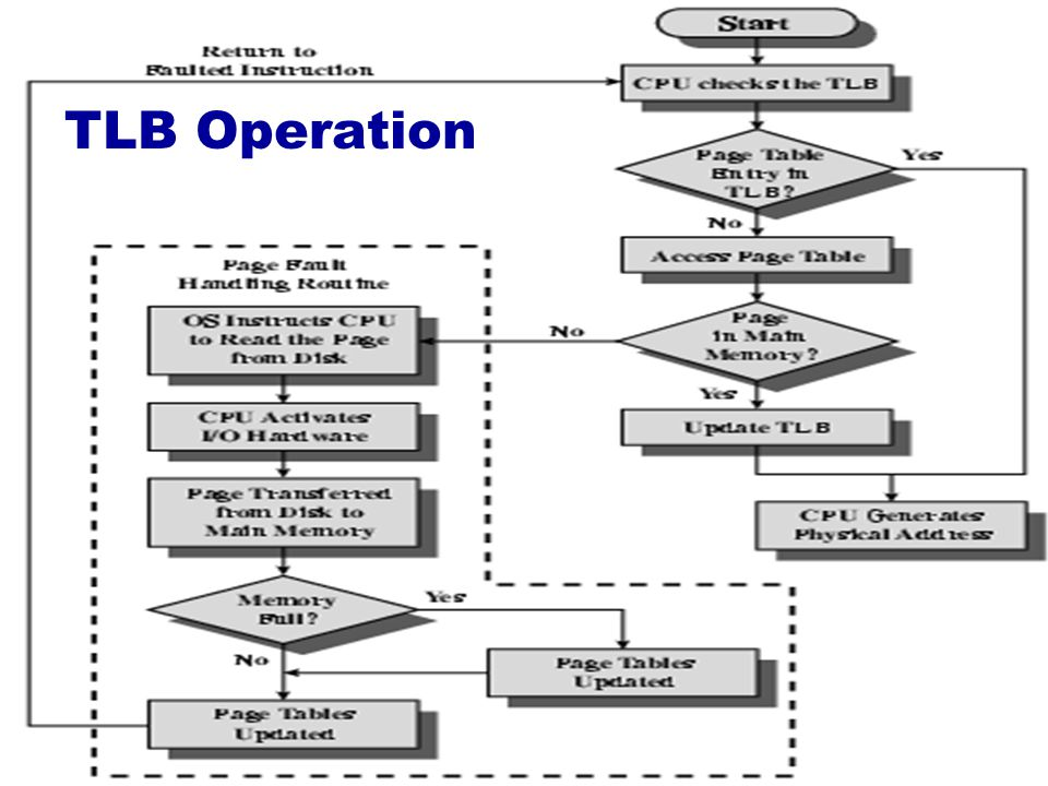 TLB Operation