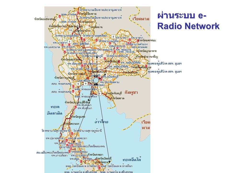 ผ่านระบบ e-Radio Network