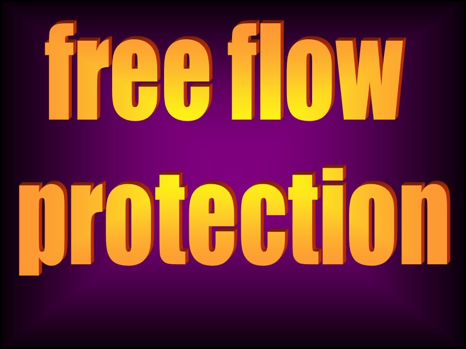 free flow protection