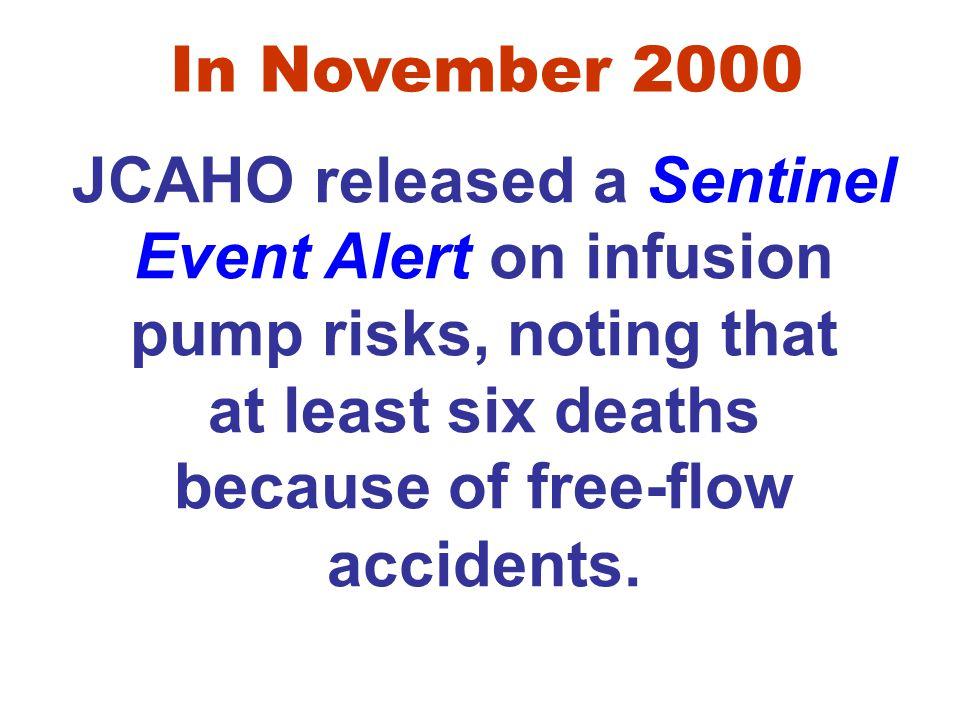 In November 2000