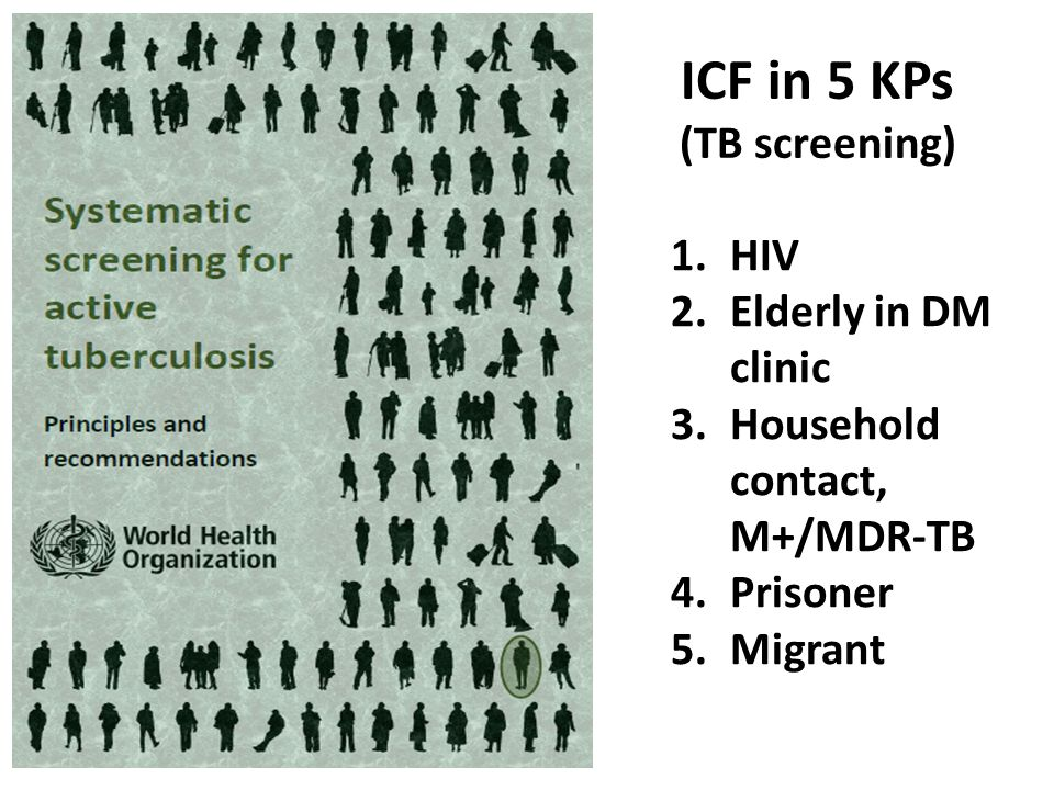 ICF in 5 KPs (TB screening)