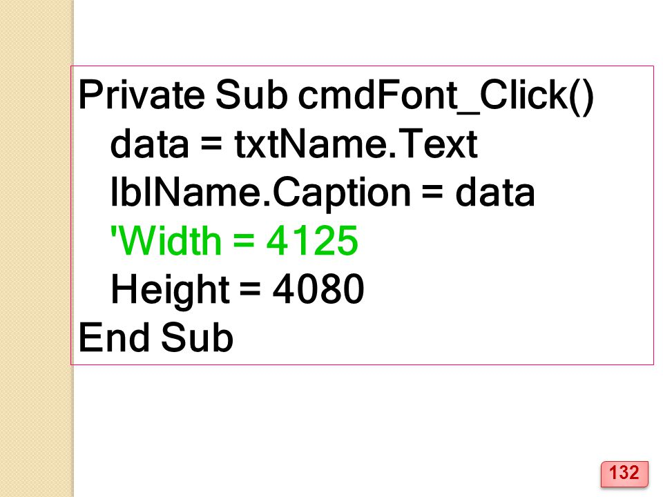Private Sub cmdFont_Click()