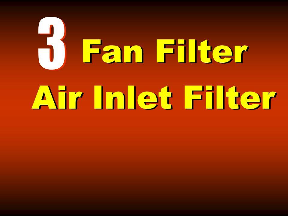 Fan Filter Air Inlet Filter