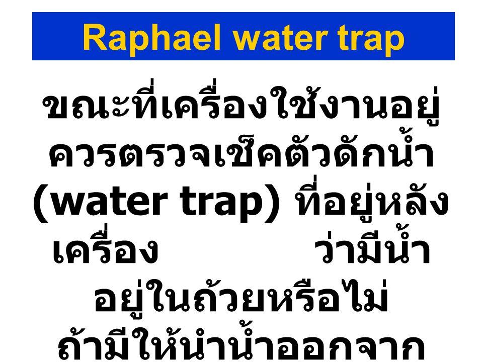 Raphael water trap