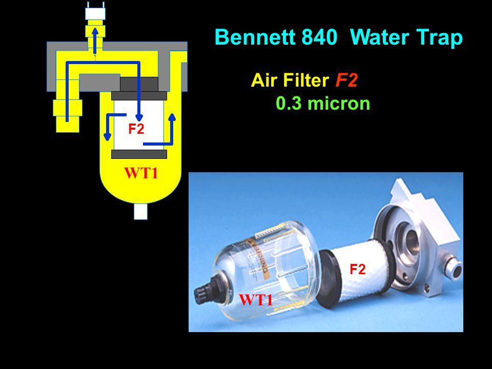 Bennett 840 Water Trap Air Filter F2 0.3 micron F2 WT1 F2 WT1