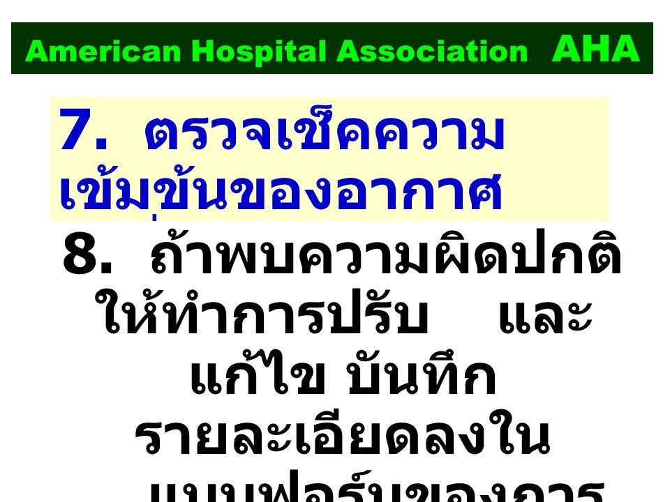 American Hospital Association AHA