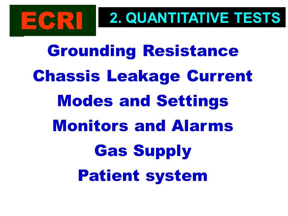 ECRI 2. QUANTITATIVE TESTS.