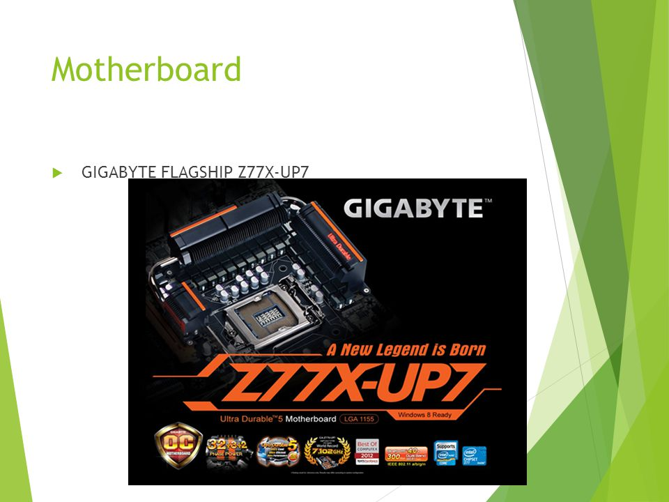 Motherboard GIGABYTE FLAGSHIP Z77X-UP7