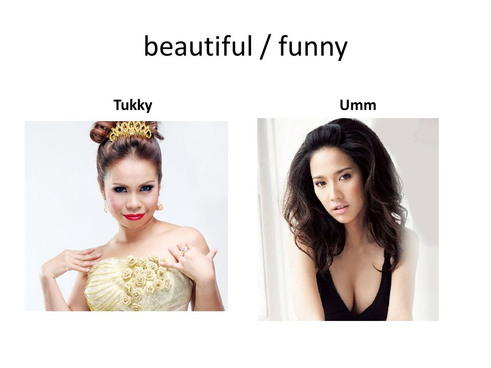beautiful / funny Tukky Umm
