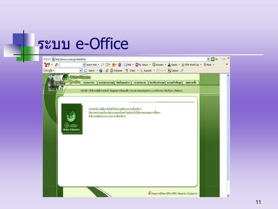 ระบบ e-Office