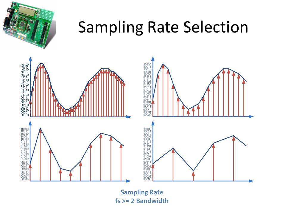 Sampling Rate Selection