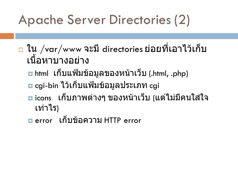 Apache Server Directories (2)