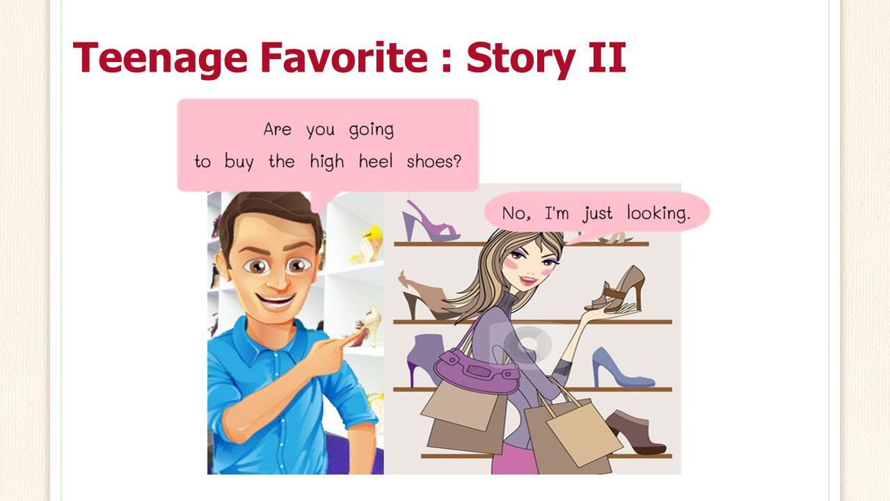 Teenage Favorite : Story II