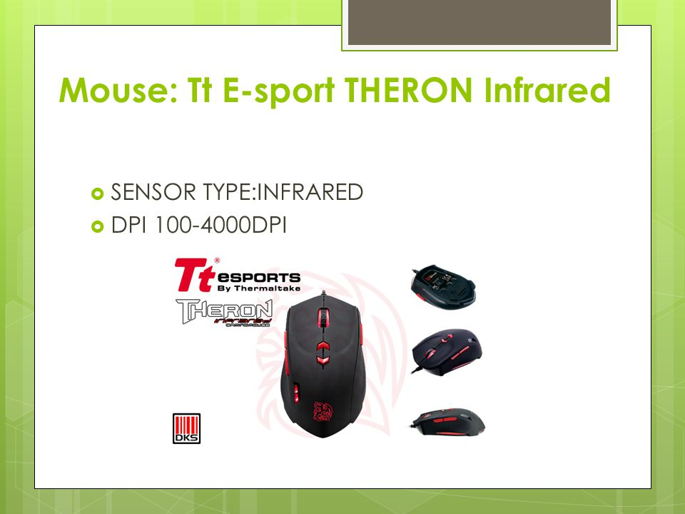 Mouse: Tt E-sport THERON Infrared