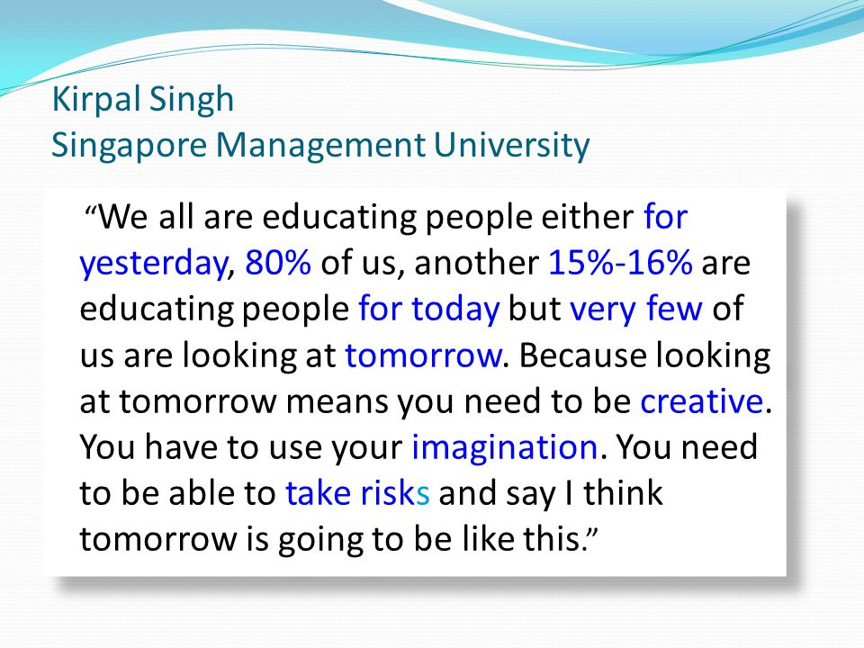 Kirpal Singh Singapore Management University