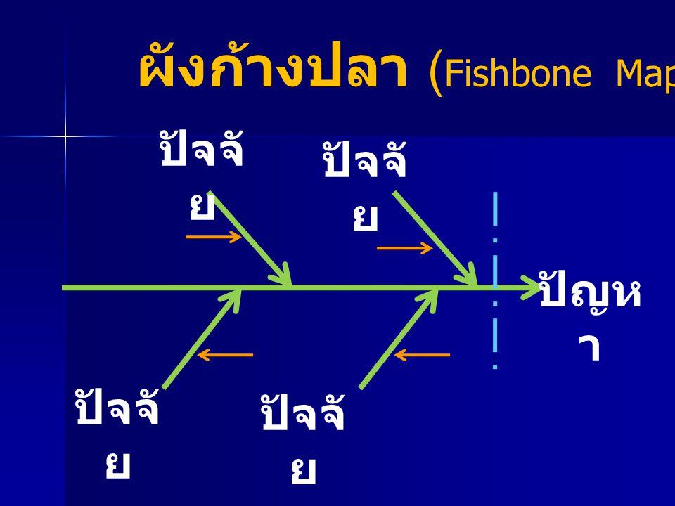 ผังก้างปลา (Fishbone Map)