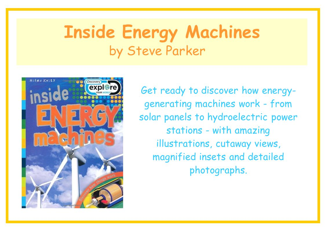 Inside Energy Machines