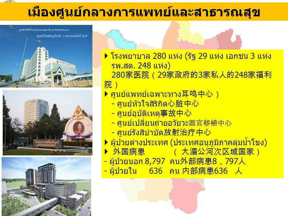 เมืองศูนย์กลางการแพทย์และสาธารณสุข