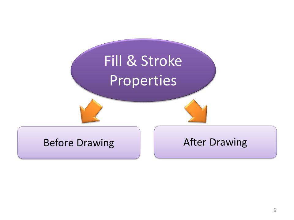 Fill & Stroke Properties