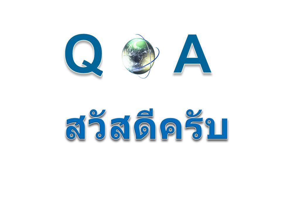 Q& A สวัสดีครับ