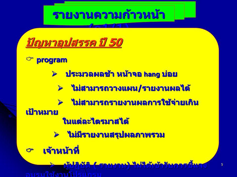 รายงานความก้าวหน้า (ก1/1)