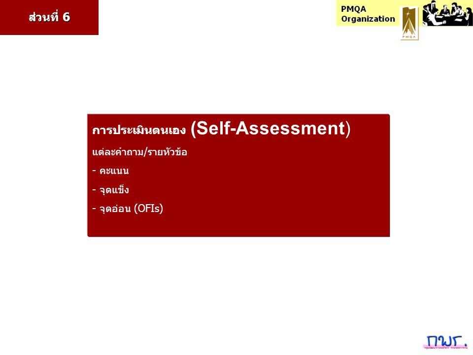 การประเมินตนเอง (Self-Assessment)