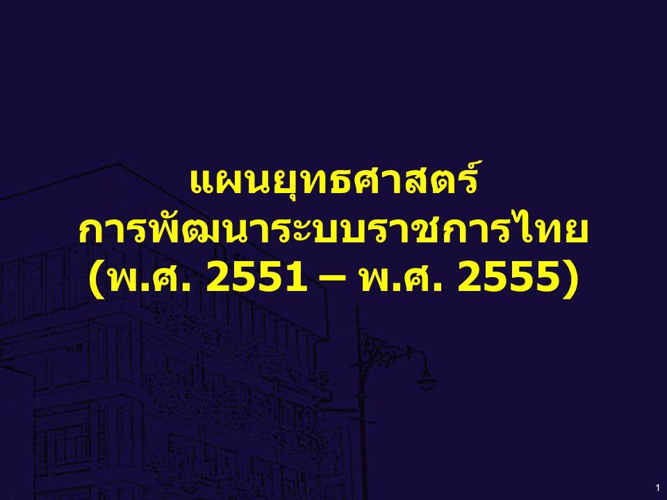 การพัฒนาระบบราชการไทย