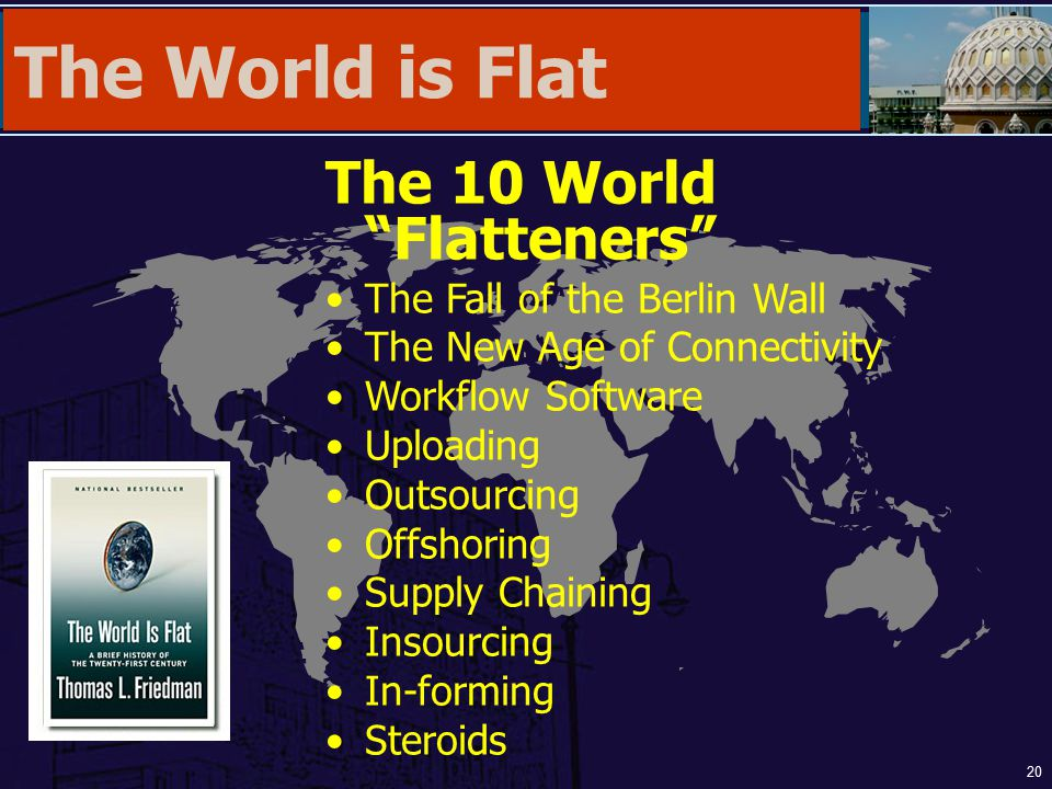 The World is Flat The 10 World Flatteners
