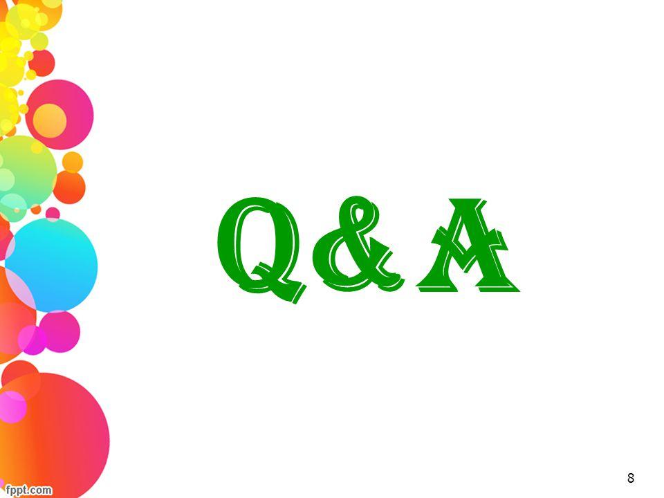 Q&A 8