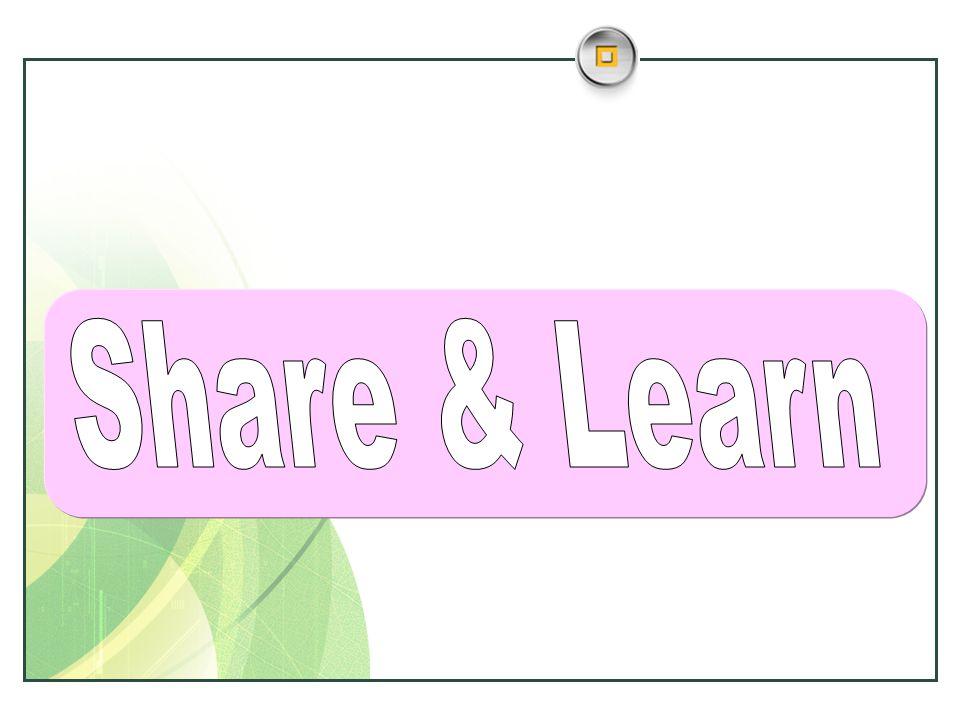 Share & Learn