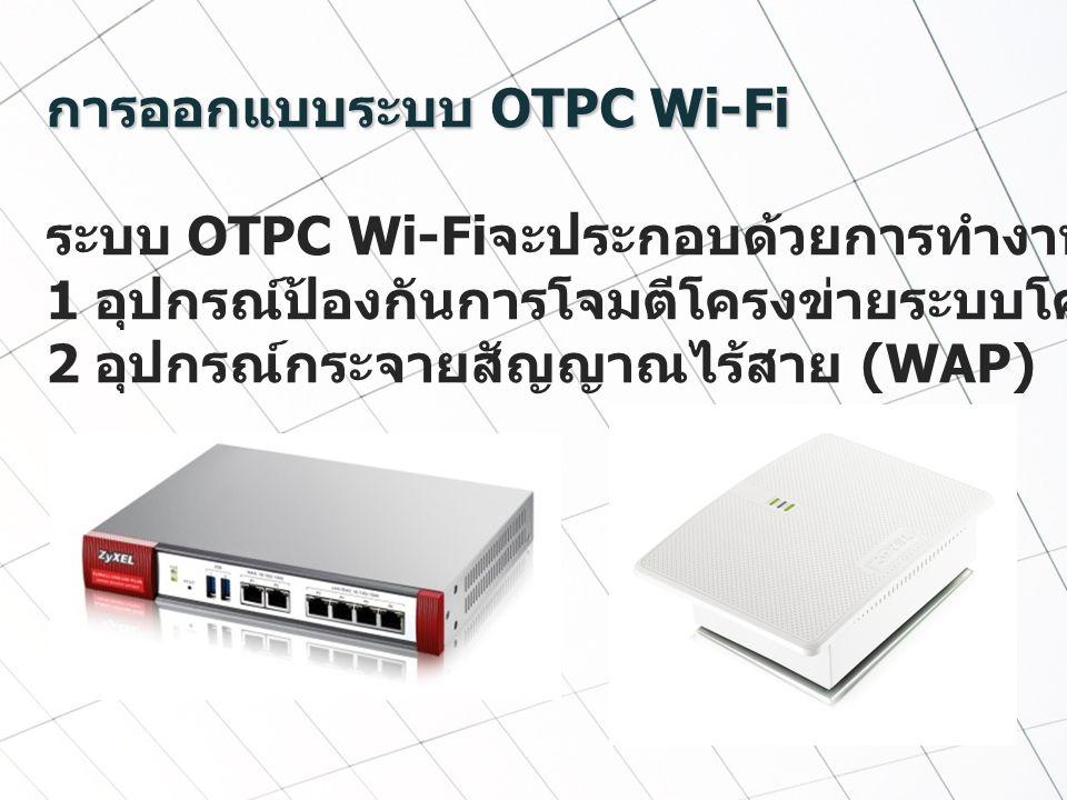 การออกแบบระบบ OTPC Wi-Fi