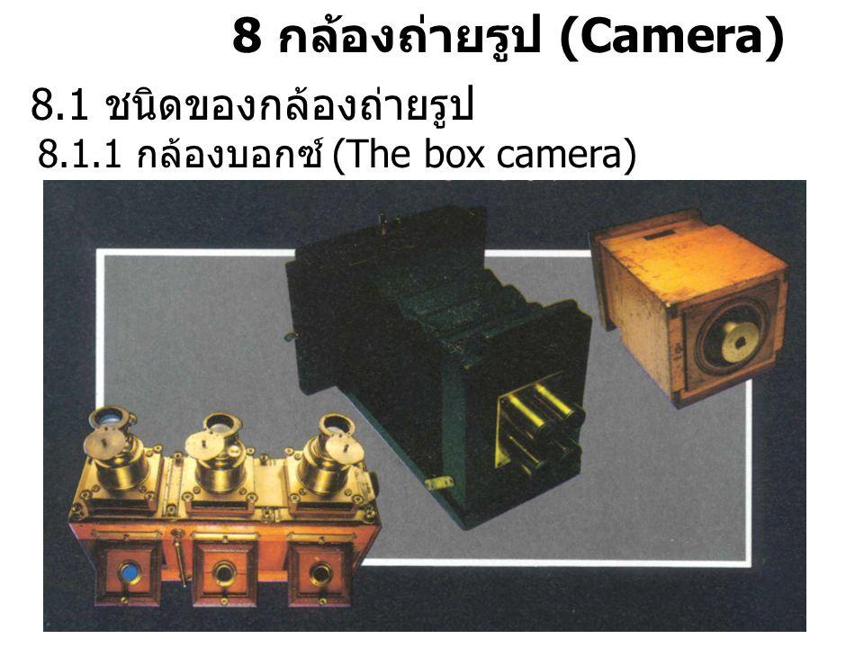 8 กล้องถ่ายรูป (Camera)