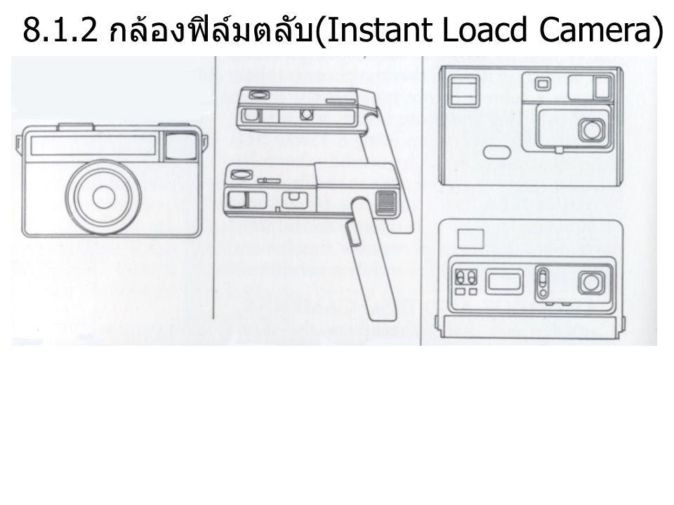 8.1.2 กล้องฟิล์มตลับ(Instant Loacd Camera)