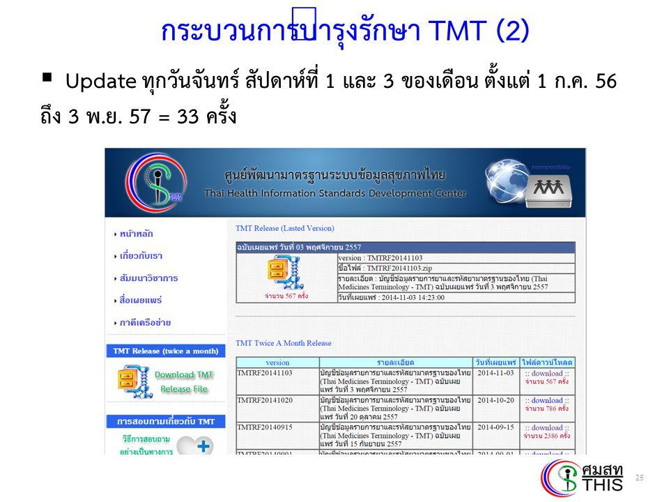 กระบวนการบำรุงรักษา TMT (2)