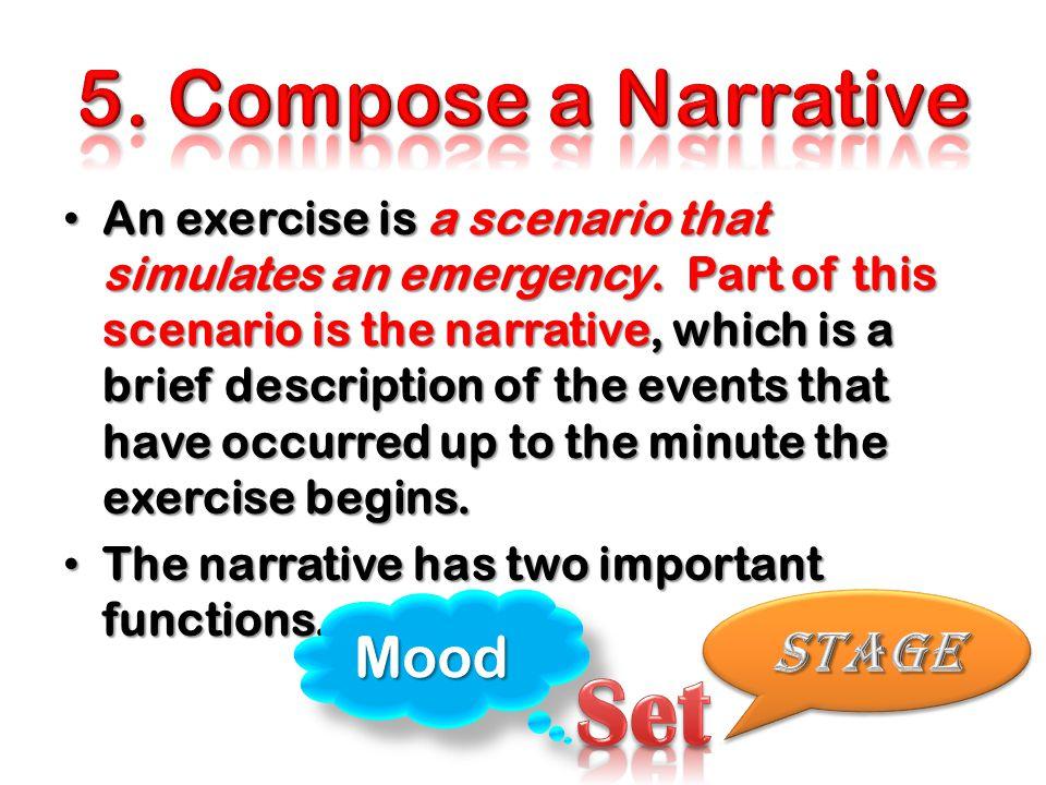 Set 5. Compose a Narrative Mood Stage