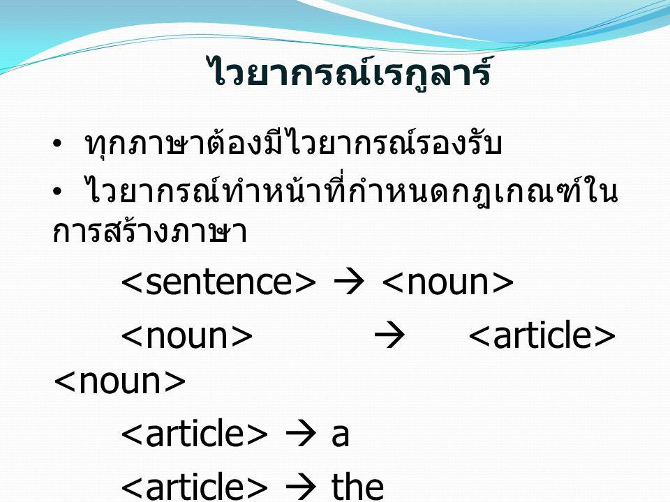 <noun>  <article> <noun> <article>  a