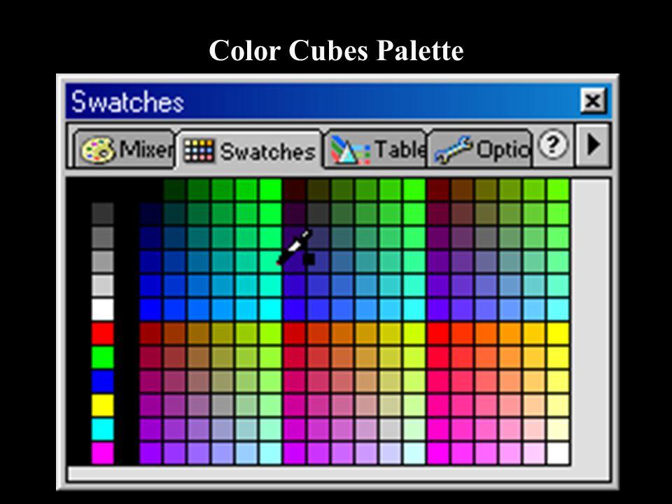 Color Cubes Palette