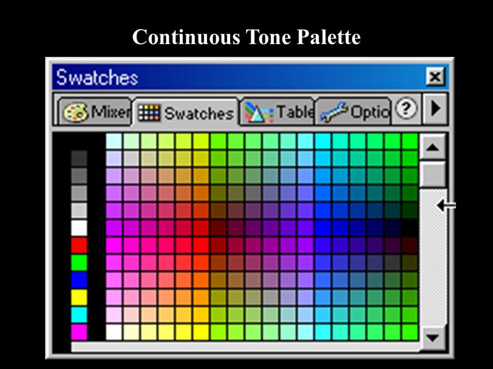 Continuous Tone Palette