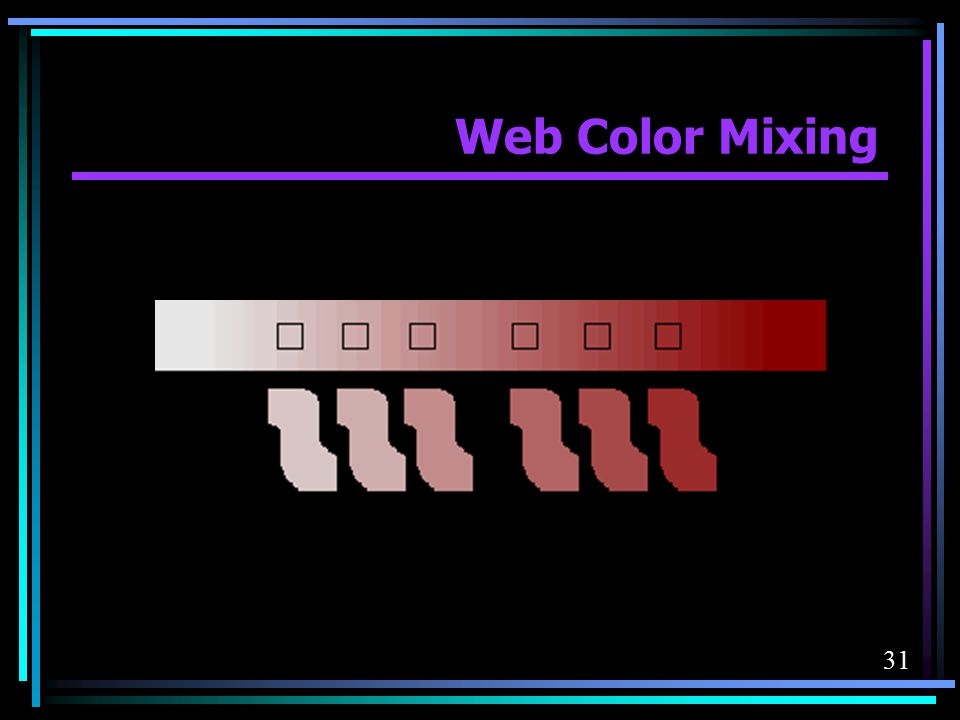 Web Color Mixing