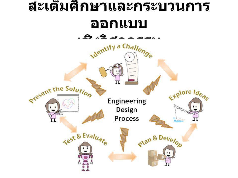 สะเต็มศึกษาและกระบวนการออกแบบ เชิงวิศวกรรม