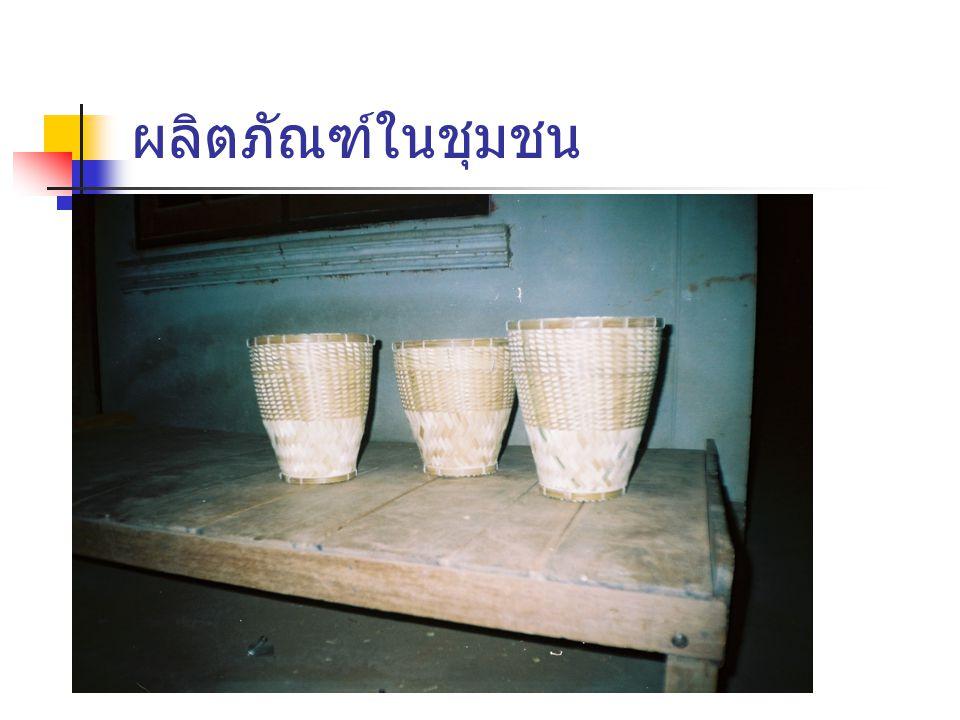 ผลิตภัณฑ์ในชุมชน