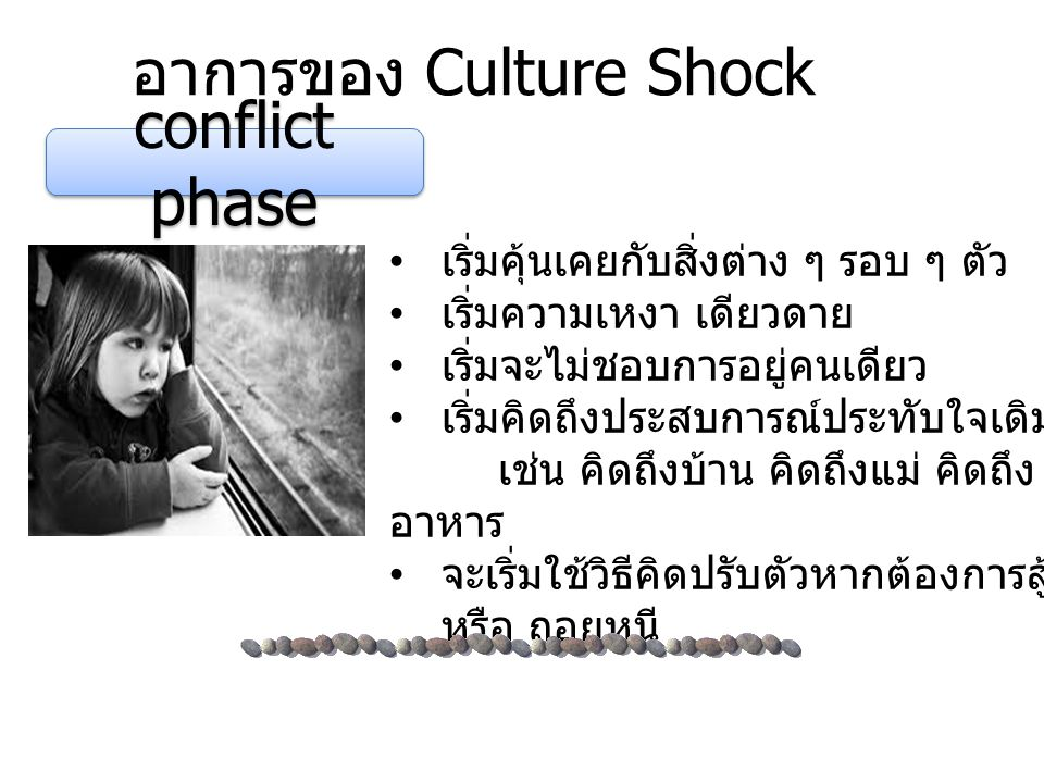 อาการของ Culture Shock