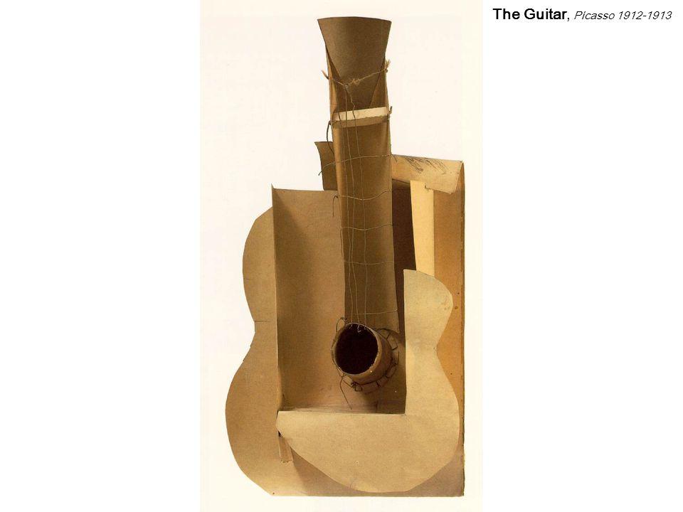 The Guitar, Picasso 1912-1913