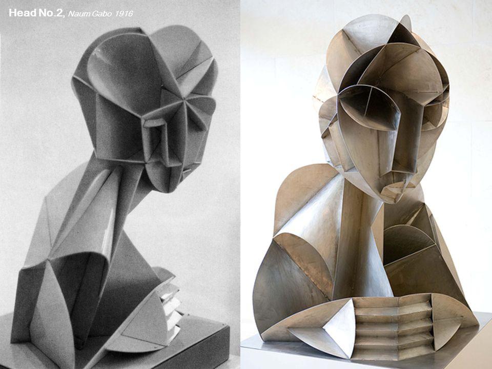 Head No.2, Naum Gabo 1916