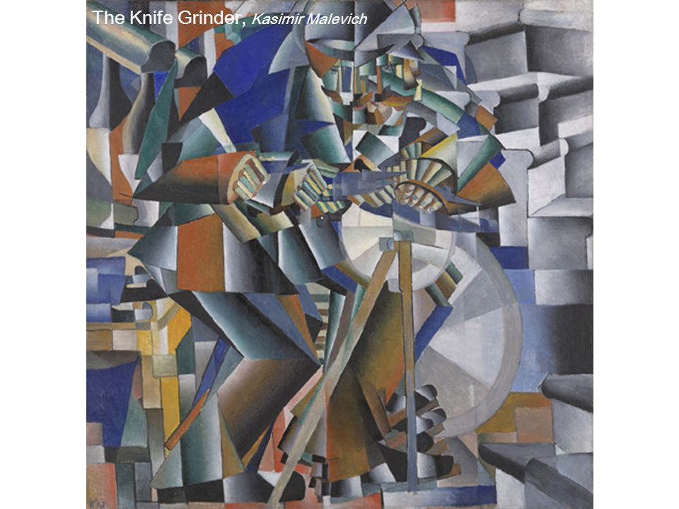 The Knife Grinder, Kasimir Malevich