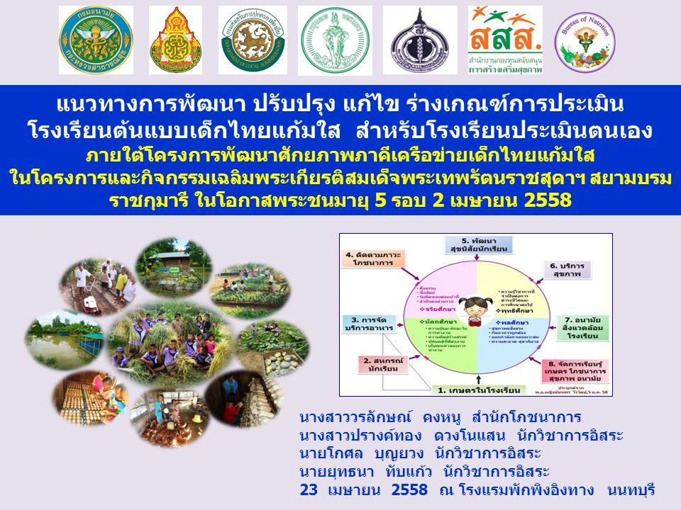 ภายใต้โครงการพัฒนาศักยภาพภาคีเครือข่ายเด็กไทยแก้มใส