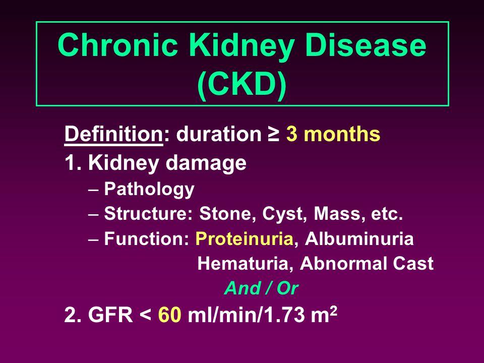 Chronic Kidney Disease (CKD)