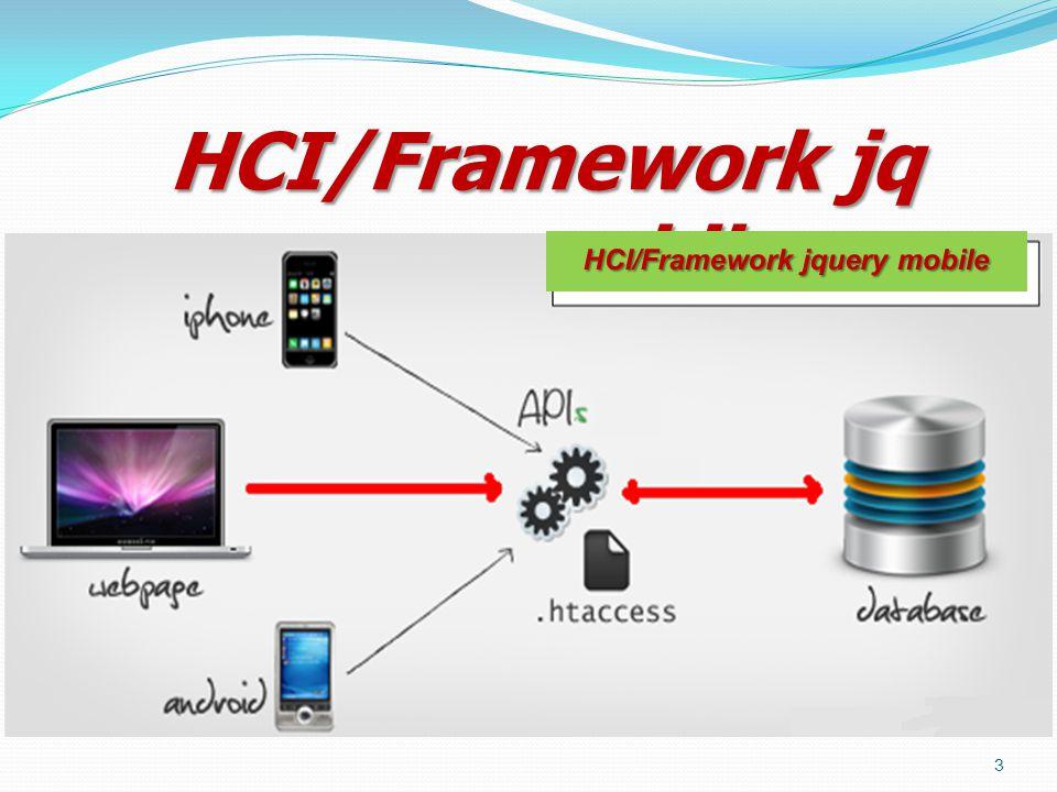 HCI/Framework jquery mobile